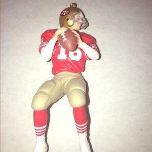 1995 Hallmark Joe Montana NFL Christmas Ornament
